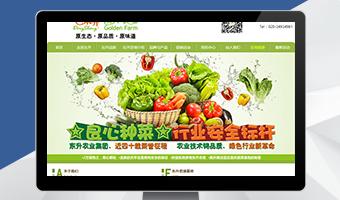 东升农业集团营销型网站案例