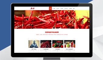 老干爹食品营销型网站案例